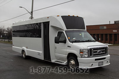 20-22 Passengers Limo Bus
