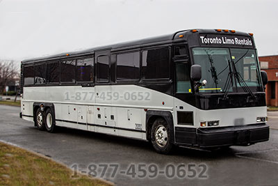 45-50 Passengers (MCI-2 Party Bus Mississauga)