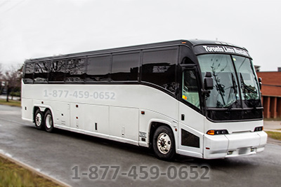 45-50 Passengers (MCI-3 Party Bus Mississauga)