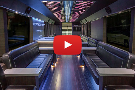 Video Tour of Limousines and Party Buses